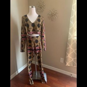 Guess two piece size L